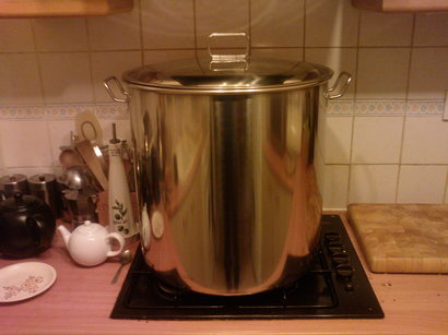 Yet another 70l SS Stockpot Kettle Lots of pics, long post